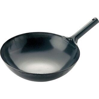 SS iron hand wok (Beijing hot pot) 33 cm