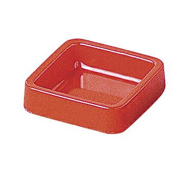千羽鶴 A-271カラー灰皿(正角) 赤