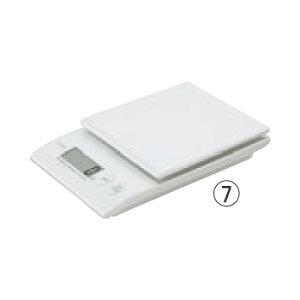 タニタ デジタルクッキングスケール 2kg KD-410(WH パールホワイト)【デジタルはかり】【デジタルスケール】【秤】【TANITA】【業務用】