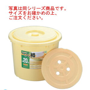 ポリエチレン つけもの樽 S80型(押し蓋付)【漬物樽】【漬け物樽】【漬物容器】【漬物用品】【つけもの用品】【保存容器】【ぬか漬け】【業務用】【厨房用品】