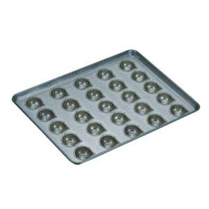 シリコン加工 マロンケーキ型 天板(25ヶ取)【業務用】【オーブン天板】