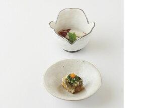 粉引印花紋 割山椒鉢