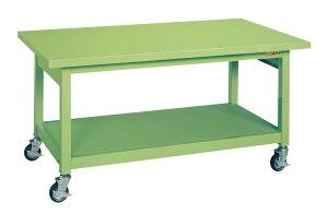 重量作業台KWBタイプ移動式 KWBS-158【代引き不可】