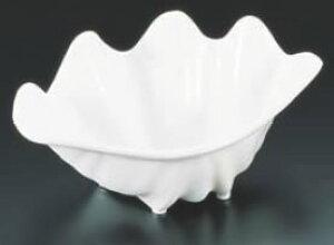 プラスチック製 しゃこ貝 大 ホワイト 0344【業務用】