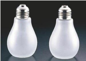 ライトバルブ ソルト&ペパーセット LB-22 (ガラス製)【スパイスボトル】【業務用】