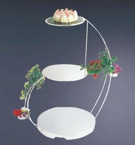 UK18-83段ウェディングケーキスタンド【代引き不可】【ケーキ台】【業務用】