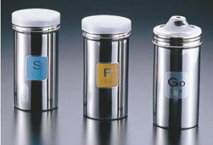 TKG 18-8調味缶ロング (アクリル蓋付)S缶【調味料入れ】【ふりかけ缶】【業務用】