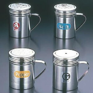SA18-8手付調味缶 大 P缶【調味料入れ】【ふりかけ缶】【業務用】