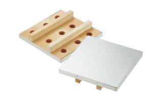 SA木製付け板(18-8ステンレス張り) 21cm【流し缶】【かまぼこ板】【練り板】【業務用】