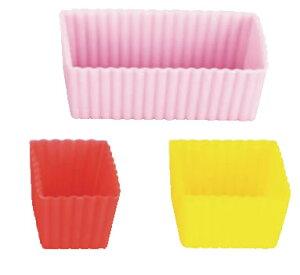 シリコンカップ 3カップセット (3色セット)59614 【カップケーキ型 マフィン型】【ケーキ型 洋菓子焼型 】【製菓用品 製パン用品】【フレキシブルモルド 天板型】【業務用】