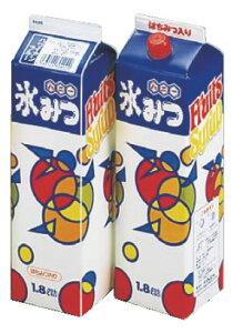 氷みつ(8本入) オレンジ 【喫茶用品 かき氷用品】【かき氷】【業務用】