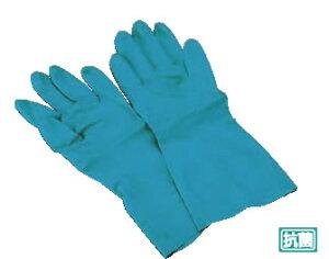 ダンロップ ワークハンズ B-121 (ニトリルゴム製・裏植毛付)L【手袋】【ゴム手袋】【業務用】