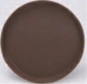 CXノンスリップ丸トレー ブラウン 40cm【お盆】【トレー】【トレイ】【丸盆】【運び盆】【B-3-38】