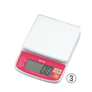 タニタ デジタルクッキングスケール 2kg KD-196 ピンク【デジタルはかり】【デジタルスケール】【秤】【TANITA】【キッチン用品】【厨房用品】