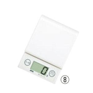 A&D ホームスケール 2kg UH-3303-W ホワイト【デジタルはかり】【デジタルスケール】【秤】【キッチン用品】【厨房用品】