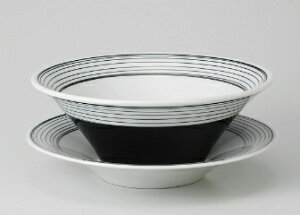 ■3個セット■ブラック スクリュー8吋敷皿