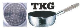 雪平鍋 プロセレクト IH TKG(ハードコーティング加工) 18cm【アルミ片手鍋】【電磁調理器対応】【IH対応】【業務用鍋】【テフロン加工】【TKG】【業務用】