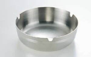 18-8シティースタック 灰皿 10cm【灰皿】【ステンレス】【業務用】