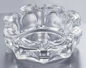 ガラス製 ローラー灰皿 P-05532【灰皿】【ガラス】【業務用】