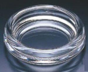 ガラス製 モントレー灰皿 P-6402【灰皿】【ガラス】【業務用】