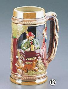 ダンスジョッキー(陶器) YK-7 【タンブラー カクテルグラス】【アルコールグッズ】【カップ 酒器】【ビールジョッキ】【ビールグラス】【業務用】