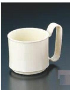 マグカップ (ポリカーボネイト) KB-230 アイボリー【コップ】【マグカップ】【コーヒーカップ】【コーヒーコップ】【業務用】