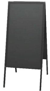 蛍光マーカー用アルミ枠スタンド黒板 ABD85-1【代引き不可】【案内看板】【案内プレート】【販売板】【業務用】