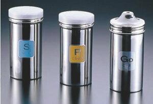 TKG 18-8調味缶ロング (アクリル蓋付)P缶【調味料入れ】【ふりかけ缶】【業務用】