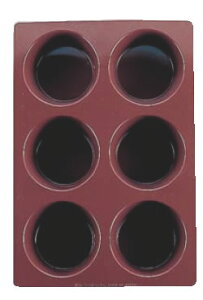 シリコーン・ラバーパン B-022 マフィン型 【シリコン型 ベーキングモルド】【ケーキ型 洋菓子焼型 】【製菓用品 製パン用品】【フレキシブルモルド 天板型】【業務用】