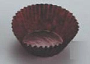 茶グラシンケース(1000枚入) 6号深 【ケーキ 洋菓子焼型】【製菓用品】【使い捨てモルド カップ ラッピング】【業務用】