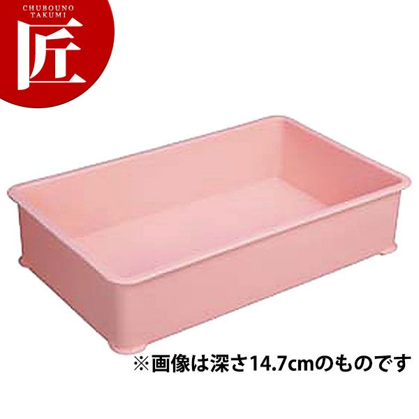 PPカラー番重 特大 B型ピンク 外寸684×423×100□ 業務用 番重 フードコンテナー 業務用番重 プラスチック 大型 【ctss】
