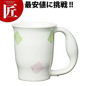 721 ほのぼのマグカップ スクエア【ctss】中空二重構造 介護用 コップ マグカップ コーヒーカップ 領収書対応可能