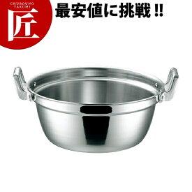KO 19-0ステンレス IH 段付鍋 36cm (12.7L)【ctss】 段付鍋 段付き鍋 IH対応 電磁調理器対応 ステンレス 業務用