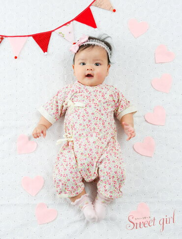8889b984f8376 楽天市場 スウィートガール 新生児 ベビー服 肌着 肌着セット 5枚組 ...