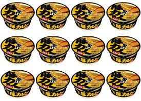 【12個セット】東洋水産 黒い豚カレーうどん 4901990325189 カップうどん インスタント麺 インスタントうどん 夜食 食品