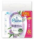 【送料無料】エリエール Puana(ピュアナ) ウエットティシュー 除菌99.99% アルコール つめかえ用(42枚*8個入り) 4902…