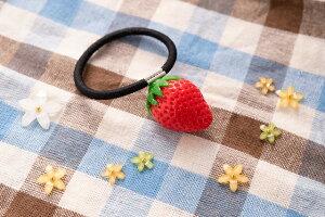 食品サンプル グッズ ヘアアクセサリー・ヘアゴム フルーツ・果物 フルーツ・果物 イチゴ