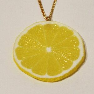 食品サンプル グッズ ネックレス・アクセサリー フルーツ・果物 レモン