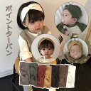【スーパーSALE】ポイントターバン/コットン/綿素材/出産祝い/ベビー服/赤ちゃん/ベビー/女の子【子供服/キッズ/韓国…