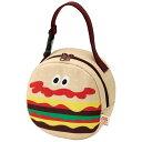 【第3弾】新作登場!★BURGER CONX★528880 ダイカットマグポーチ(バーガーコンクス)かわいいバック かわいいハンバーガー柄のバッ…