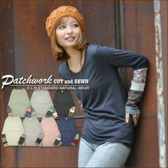 Patchwork sleeves switching ★ crewcutsaw