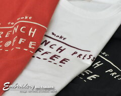 〔期間限定★セール〕Tシャツレディース半袖ゆったりドルマンおしゃれチュニックTシャツ体型カバーワイドビッグ刺繍5分袖コーヒー刺繍ロゴワイドTシャツ
