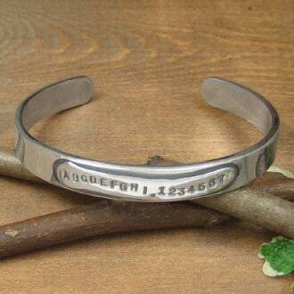 In the world one full オーダーバングル ONLY ONE ★ Double Plates Bangle *