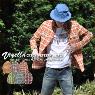Viera ★ check Western shirt