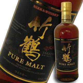 アサヒ ニッカ ウイスキー 竹鶴 ピュアモルト NV 700ml 瓶 (箱なし)