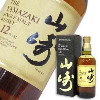 三得利单人麦芽威士忌山崎12年43次700ml(BOX入)