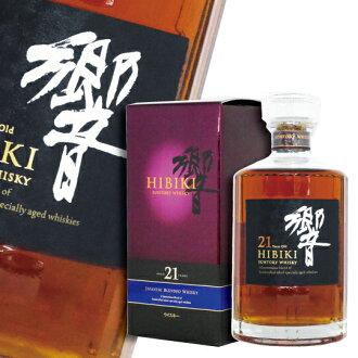 Suntory Whisky Hibiki 21 Years Old - ABV 43% 700 ml (Including Box)
