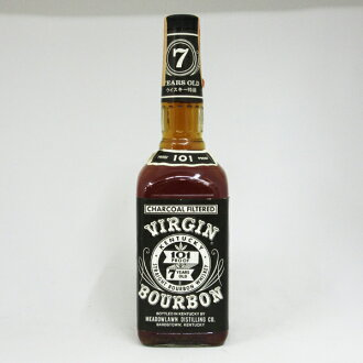 750 ml of virgin bourbon seven years 50.5 degrees regular article