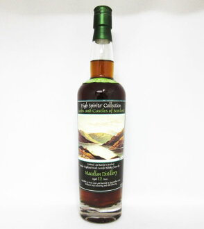 Macallan high spirits collection (High-Spirits '-Collection) Lochs and Castles of Scotland 12 years 1990-2003 46-degree 700 ml