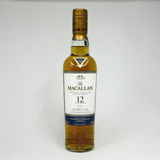 350 ml of McCarran (MACALLAN) double casque 12 years 40 degrees regular article (there is no box)